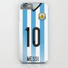World Cup 2014 - Argentina Messi Shirt Style iPhone 6s Slim Case