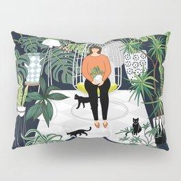 dark room print Pillow Sham