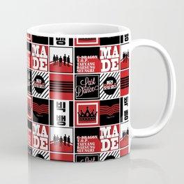 "Big Bang ""MADE"" Pattern Coffee Mug"