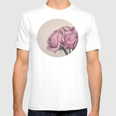 Love At First Sight  Mens Fitted Tee MEDIUM White