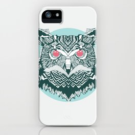 Vintage Owl iPhone Case