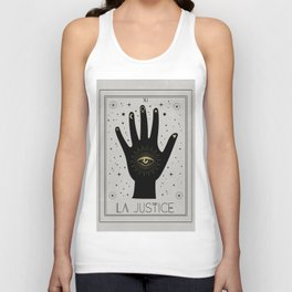 La Justice or the Justice Unisex Tank Top