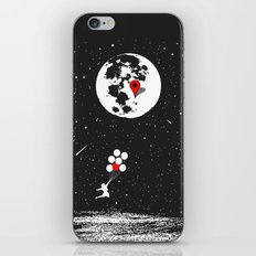 Destination Moon iPhone & iPod Skin