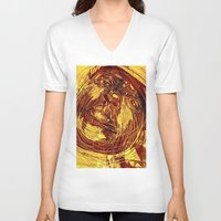 notorious V-neck T-shirts featuring NOTORIOUS by BlackKirby1