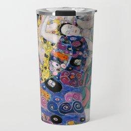 Gustav Klimt Die Jungfrauen The Maiden Travel Mug