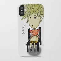 larry iPhone & iPod Cases featuring Larry by UberMondoClash