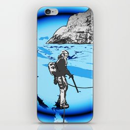 MOUNTAIN GLACIER TOUR III iPhone Skin