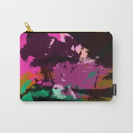 Abstract Colorful Camouflage Boho Chic Art - Ichiacko Carry-All Pouch