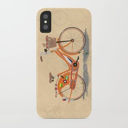 Love Holland, Love Bike iPhone Case