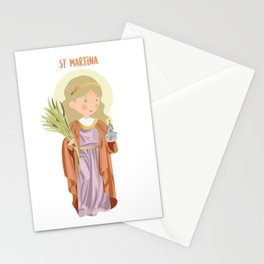 St Martina Stationery Cards