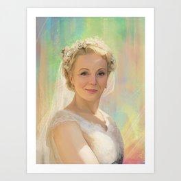 Mary Watson Art Print