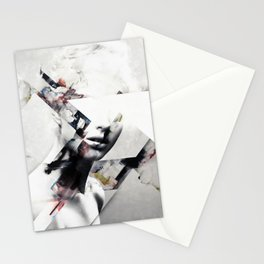 Abstract sections of beauty Stationery Cards
