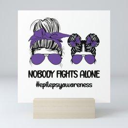 Epilepsy Awareness Month | Epilepsy Warrior Family Mini Art Print