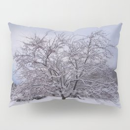 Winter Tree Pillow Sham