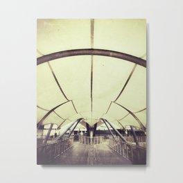 Canvas Metal Print