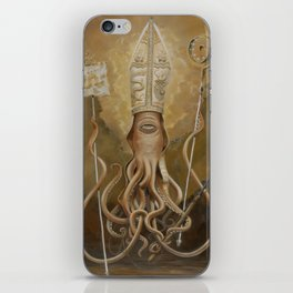 Blessed Saint Architeuthis iPhone Skin