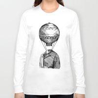 balloon Long Sleeve T-shirts featuring Balloon by Ilya kutoboy