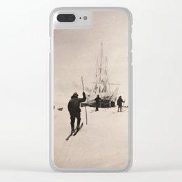 Vintage Explorers, 1894 Clear iPhone Case