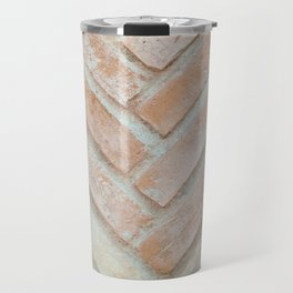 Herringbone Brick Travel Mug