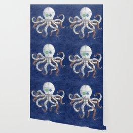 Octopus Steampunk Art Wallpaper