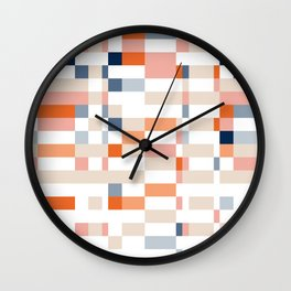 Connecting lines 4. Wall Clock