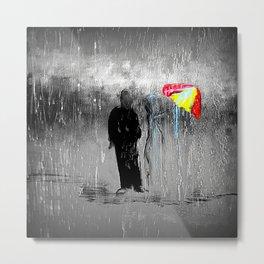 Damn Umbrella!!! Metal Print