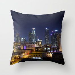 Photography in Downtown. Throw Pillow