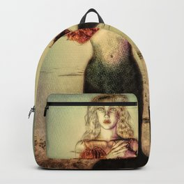 The Lonely Mermaid Backpack