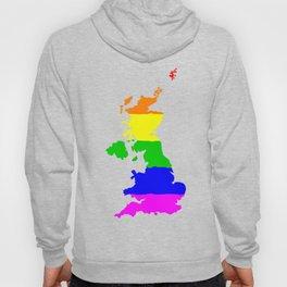 United Kingdom Gay Pride Flag Hoody