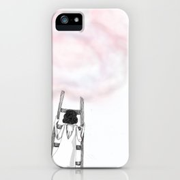 Climbing back up iPhone Case