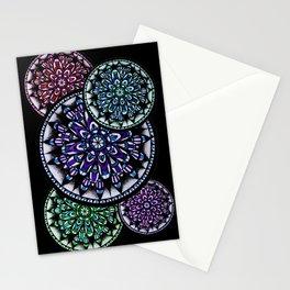 Mandala Colors Stationery Cards