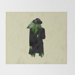 Mr.Green Thumb Throw Blanket