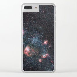 Dwarf Galaxy IC 2574 Clear iPhone Case