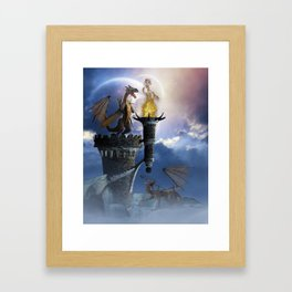 Dragon Land 2 Framed Art Print