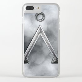 Stargate and smoke Clear iPhone Case