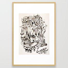 Les Jive Framed Art Print