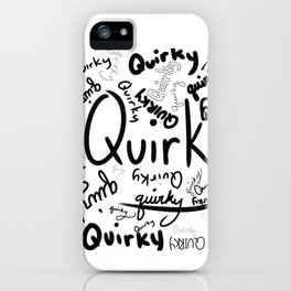 Quirky Print iPhone Case