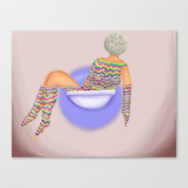 Overflowing Sink Canvas Print