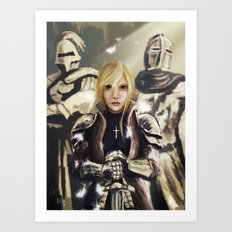 The Maid of Orleans Art Print