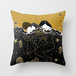 drown in your love Throw Pillow