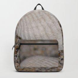 Sea shell on the beach Backpack