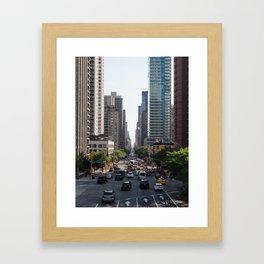 59th & 2nd Ave Framed Art Print