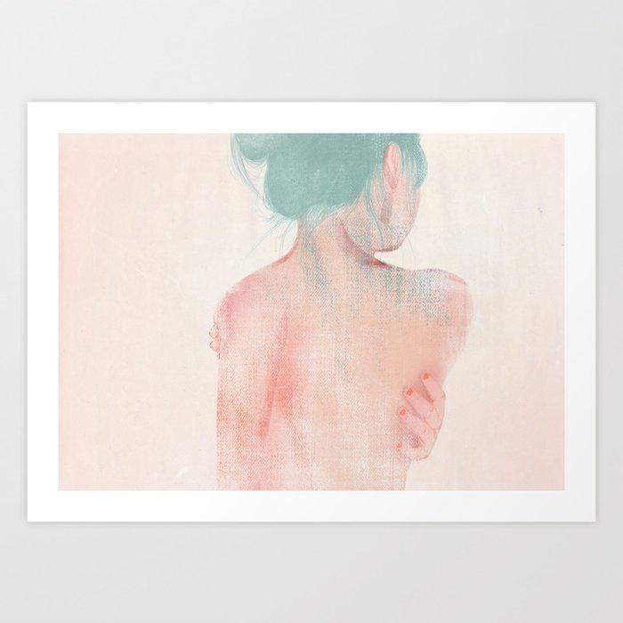 Something About Women IV Art Print