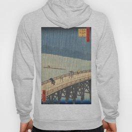 Sudden Shower over Shin-Ohashi Bridge, Hiroshige Hoody