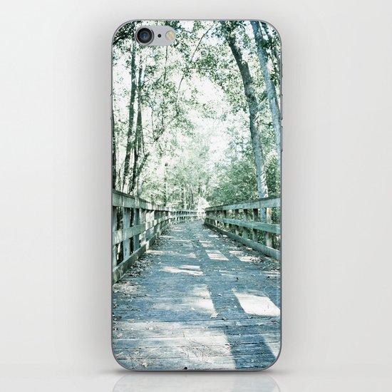 wilderness pathway iPhone & iPod Skin