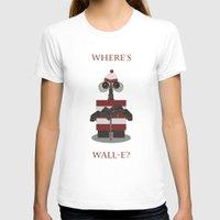 wall e T-shirts featuring Where's Wall-e? by Robert Scheribel