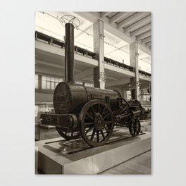 Stephenson's Rocket Canvas Print