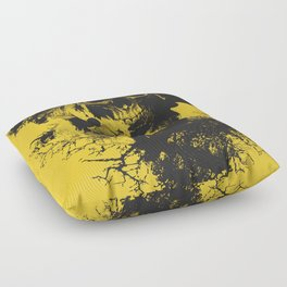 Abstract Thinking Floor Pillow