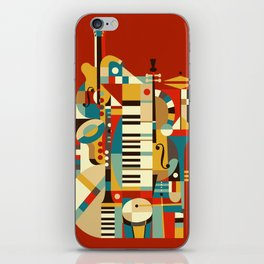 Jazz Fusion iPhone Skin