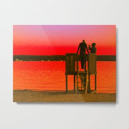 Distant Thoughts Metal Print